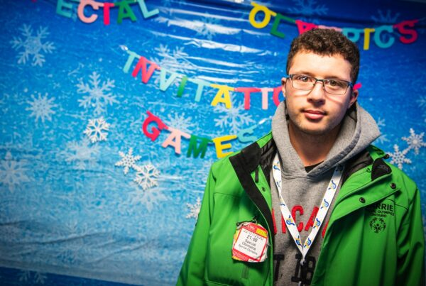Alpine skier Samuel Windross, Special Olympics Canada, is looking forward to Sweden Invitational Games.